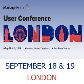 Manage Engine - User Conference 2018