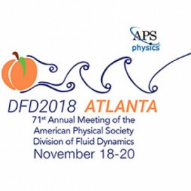 71st Annual Meeting of the American Physical Society's Division of Fluid Dynamics (DFD)