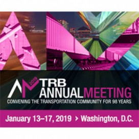 TRB Annual Meeting 2019