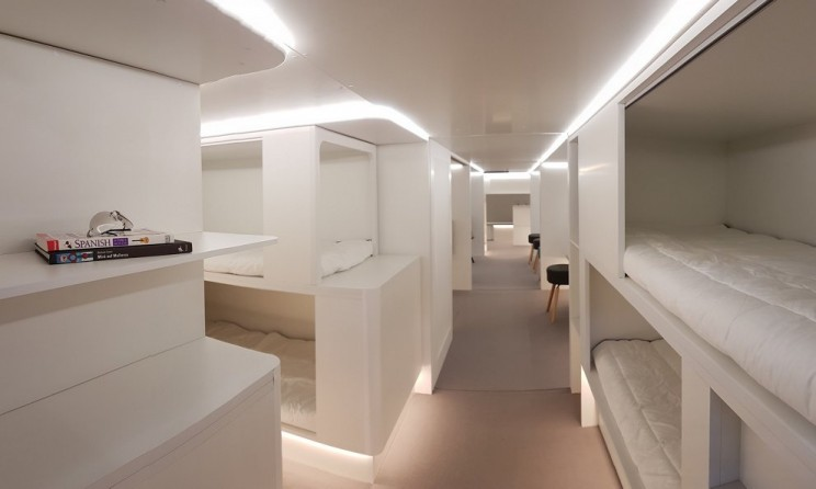 Airbus Wants to Put Beds in Plane Cargo Holds by 2020