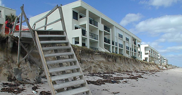 Million Dollar Mansions Are Sliding Into the Sea