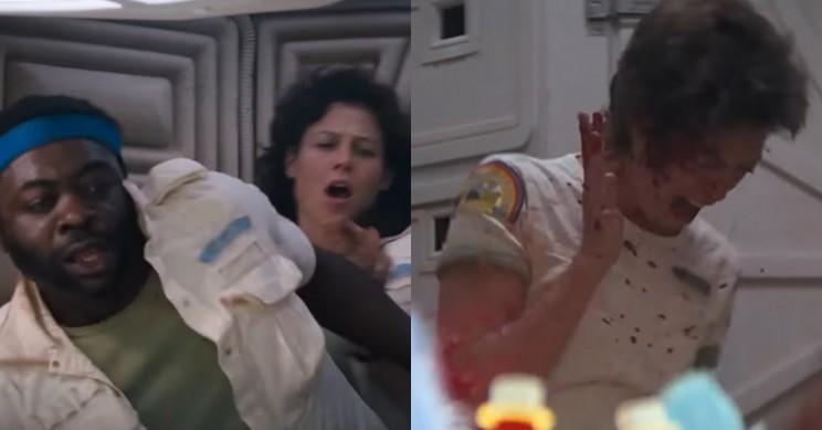 Alien Chest Burst Reaction