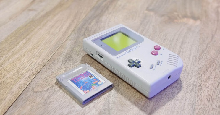 Game Boy with Tetris