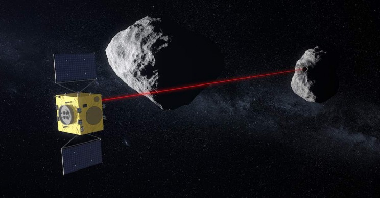 Self-Driving Spacecraft Will Save Earth from Collisions with Asteroids
