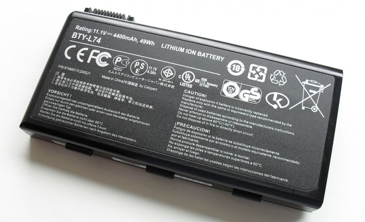 Lithium Ion Laptop Battery