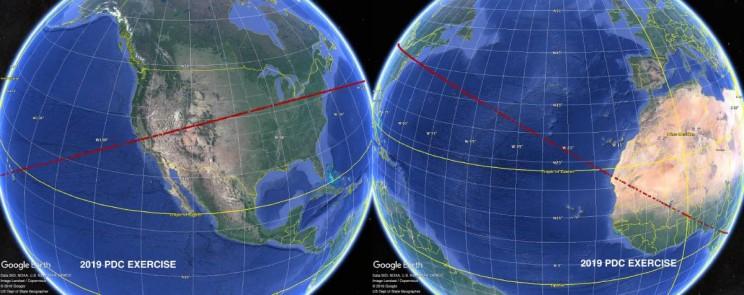 Asteroid Risk Corridor