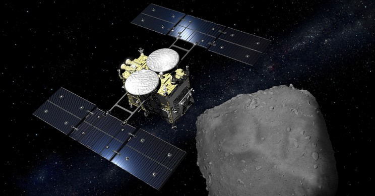 Japan Bombs Asteroid to Reveal Solar System's Secrets