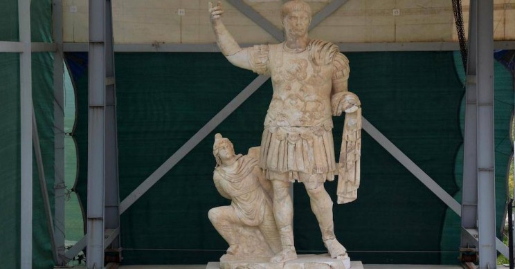 Magnificent Ancient Statue Painstakingly Restored After Discovery in Turkey
