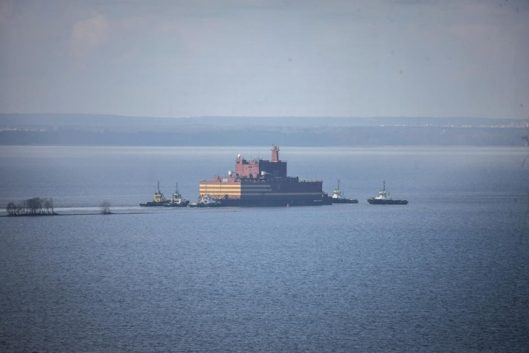 Russia's First-of-Its-Kind Floating Nuclear Plant Begins Its First Voyage