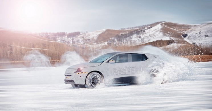 China's Leading EV Startup Puts Its Prototype Through a Cold Weather Test