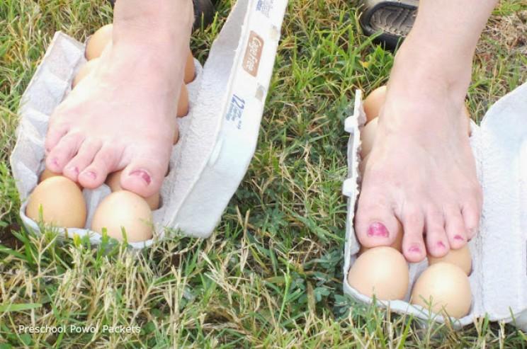 easter stem egg-walk