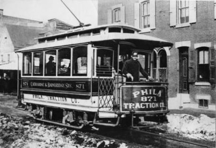First electric trolley