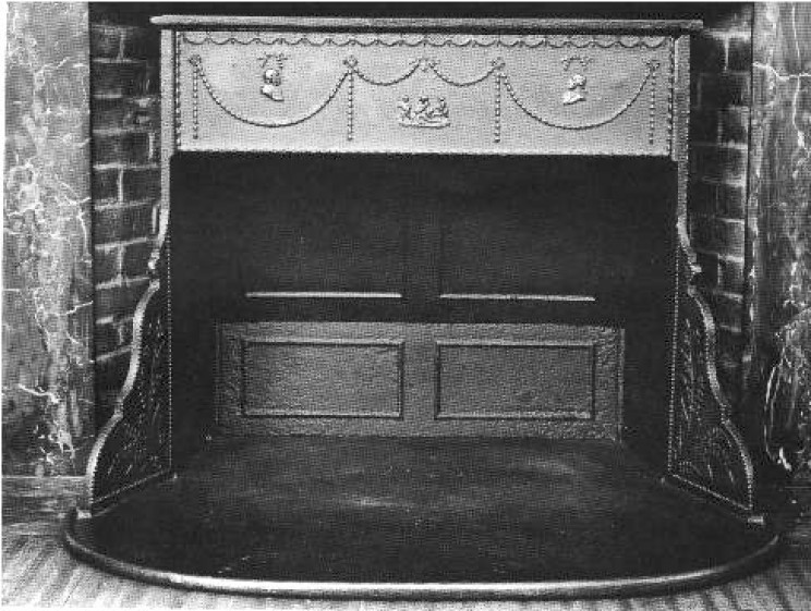 Franklin's Accomplishments stove