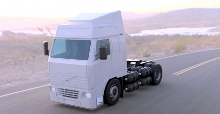 A UK-Based Company Is Developing the World's First 100% Hydrogen Combustion Truck