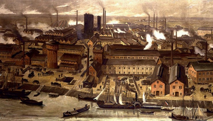 What Happened During Industrial Revolution in America