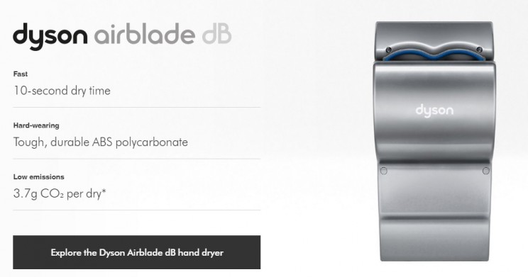 james dyson inventions airblade