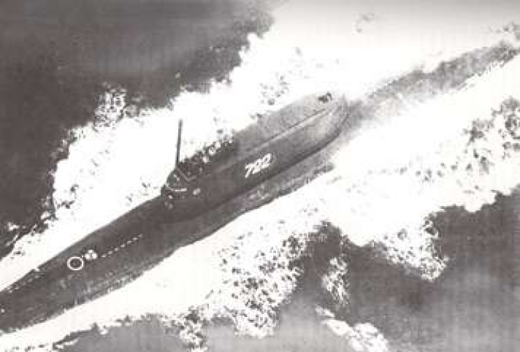 Soviet submarine K-129