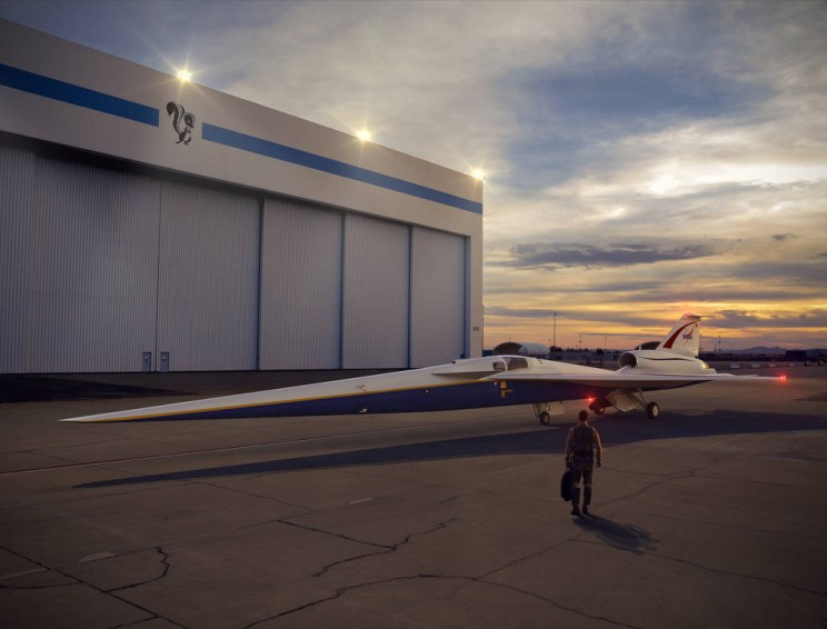 NASA Selects Lockheed Martin to Design and Build a Quiet Supersonic Aircraft
