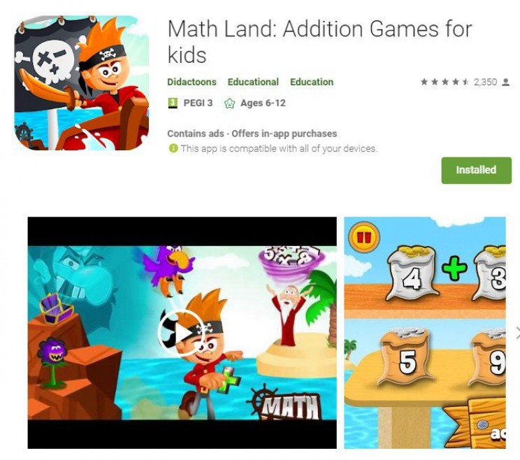 maths games math land