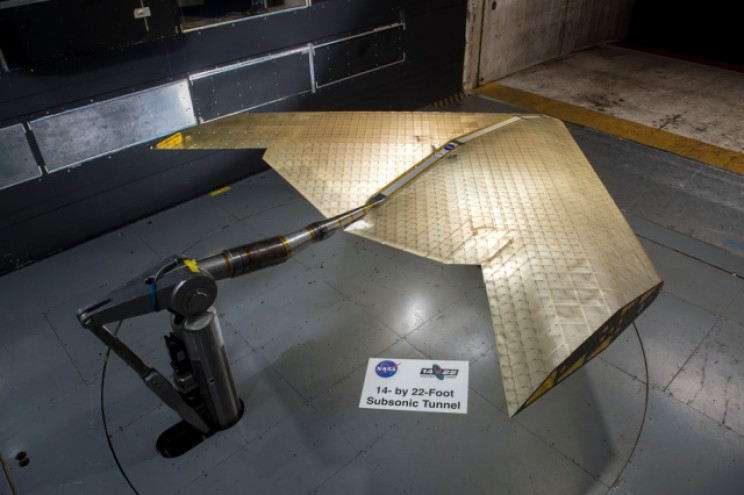 MIT And NASA Unveil Radical New Airplane Wing Design