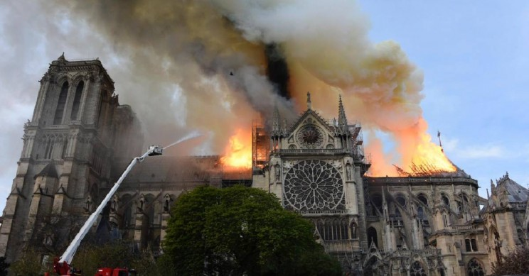 Four Reasons The Notre Dame Fire Was so Challenging for Firefighters