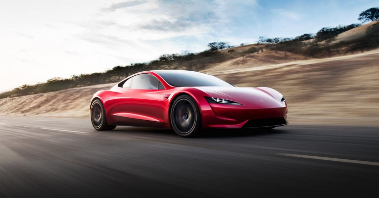 Tesla Teases Their Upcoming 2020 Roadster With A Break Neck