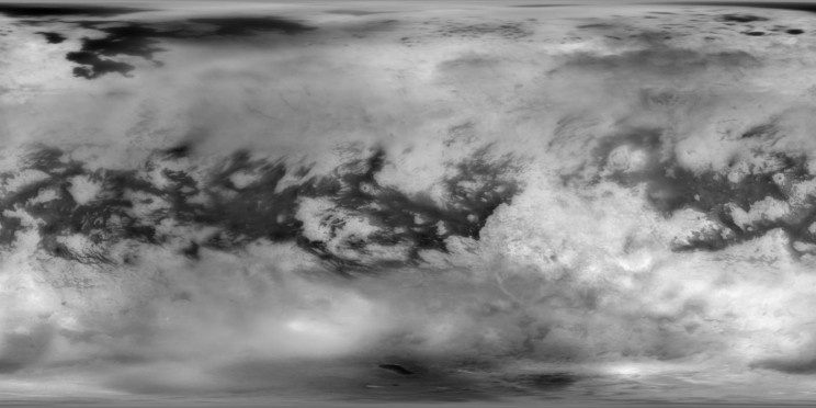 Titan Moon Atmosphere