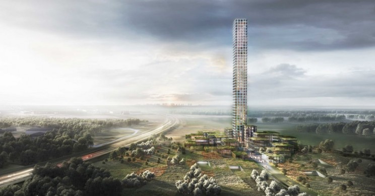 Fast Fashion Mogul Builds Western Europe's Tallest Tower in The Middle of Nowhere