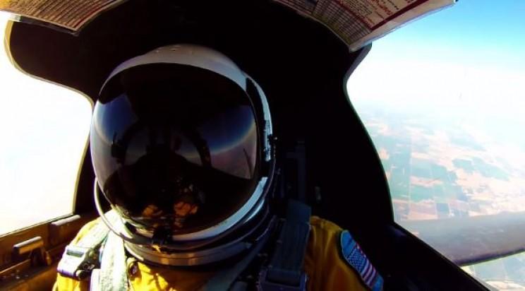 Pressure suit worn by U-2 pilots