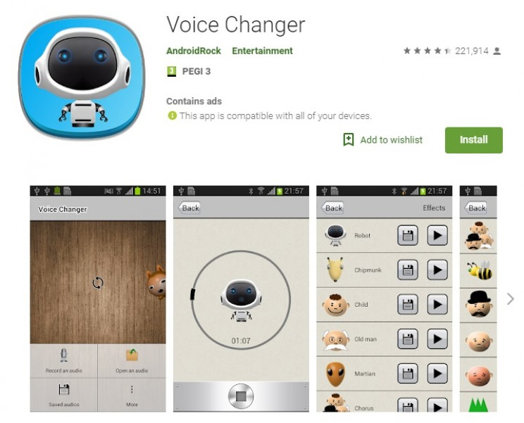 voice changing apps androidrock