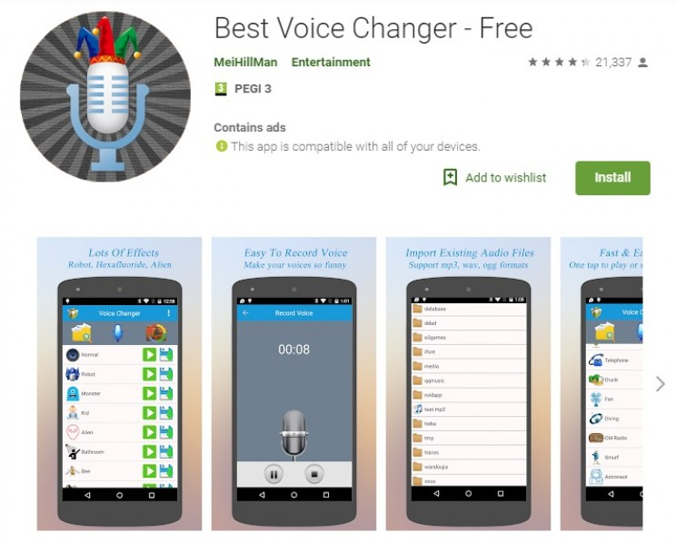 voice changing apps best