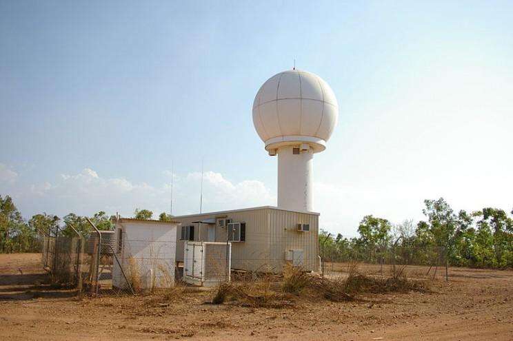 AI weather predictions radar