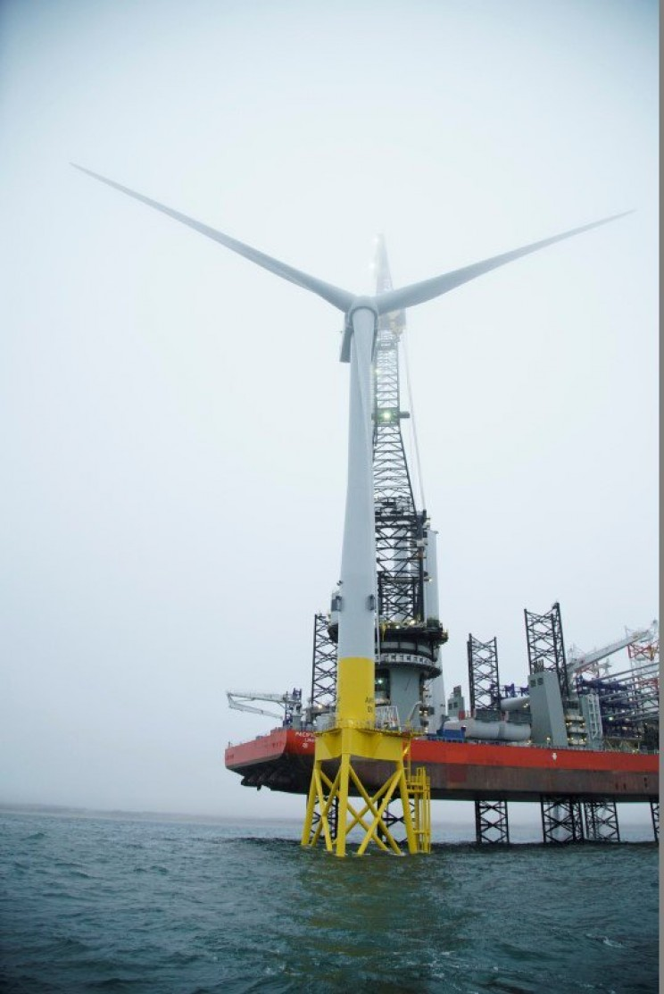 Scottish Coast is Now Home to the Most Powerful Wind Turbine in the World