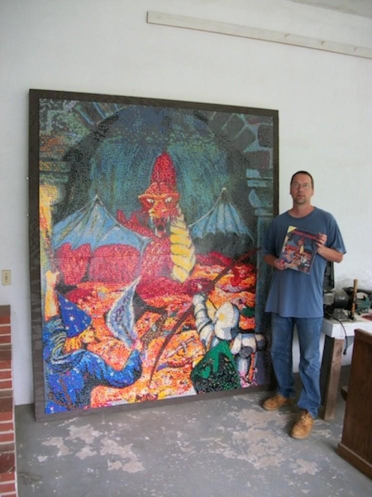 Eric Harshbarger lego art