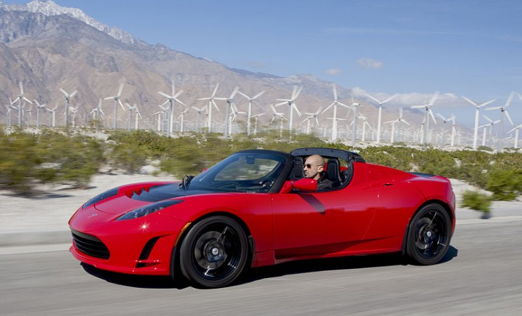 History of the electric vehicle Tesla Roadster