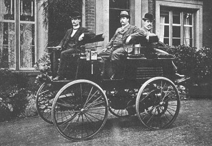 history of electric cars Parker early EV car