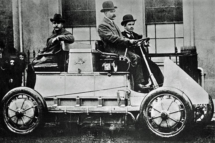 The history of electric cars first hybrid