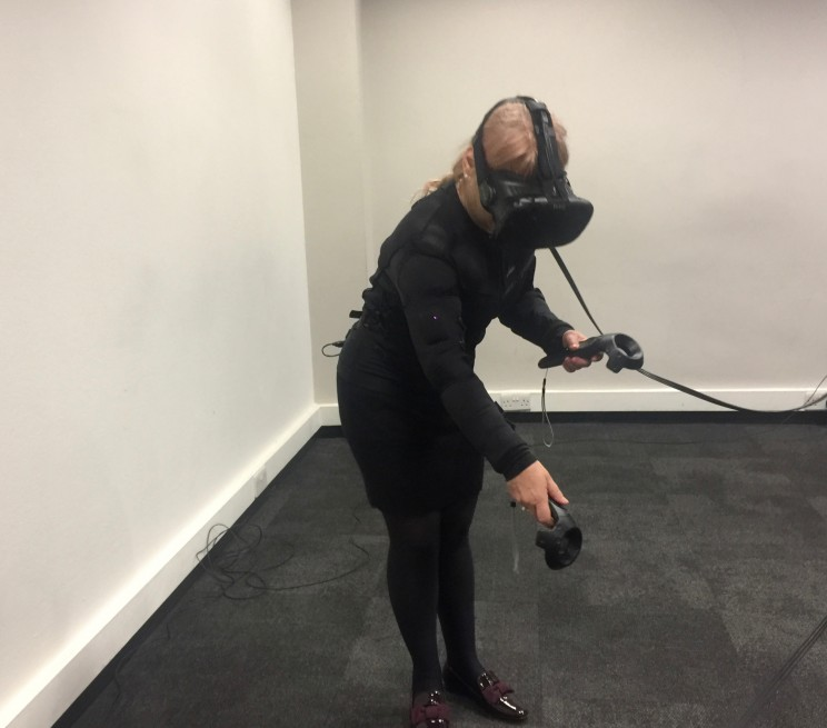 immersive vr full body haptic teslasuit