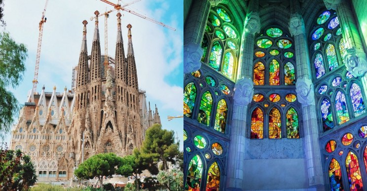 La Sagrada Familia: Barcelona's Unfinished Masterpiece by Antoni Gaudi