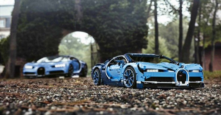 Life-Sized, Drivable Lego Bugatti Created Using Over One Million Pieces
