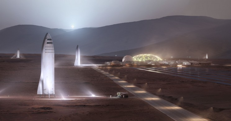 SpaceX Reveals More Details About Its Future City on Mars