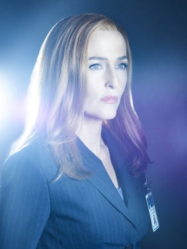 movie scientists Dana Scully