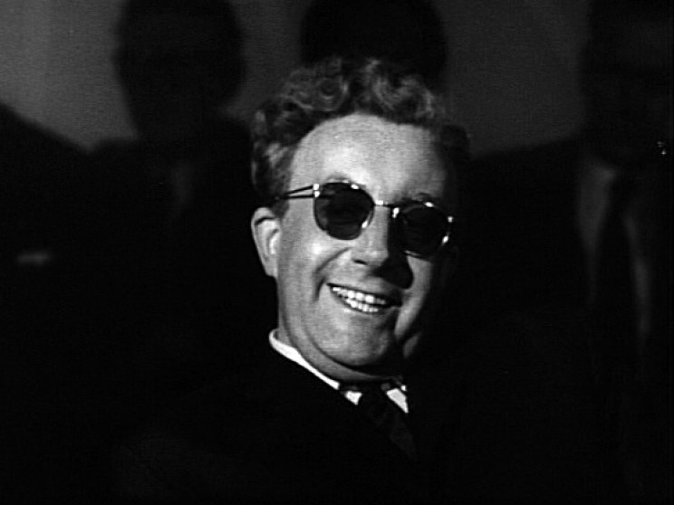 Movie Scientists Dr. Strangelove