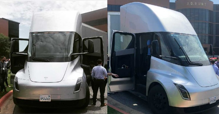 Tesla Semi Prototype Makes Cross Country Run Just on Supercharger Network