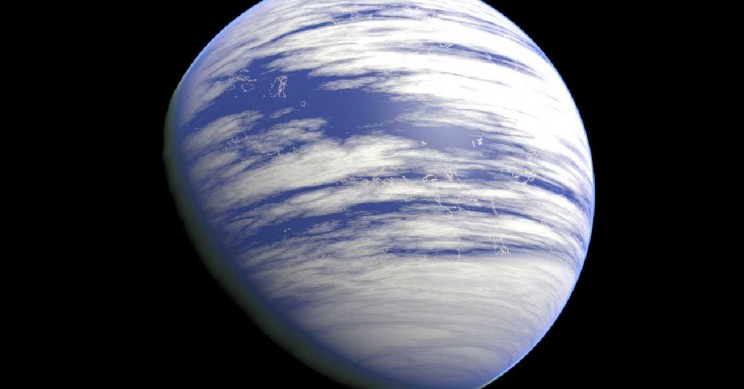 New Study Shows Life Could Indeed Thrive On Water Planets