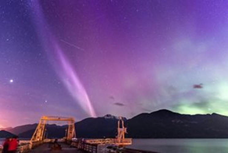 Spectacular Light Phenomenon Skyglow STEVE Not an Aurora, Say Scientists