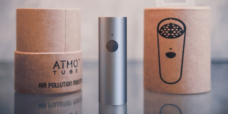 Breathe Easier with This Portable Air Quality Monitor