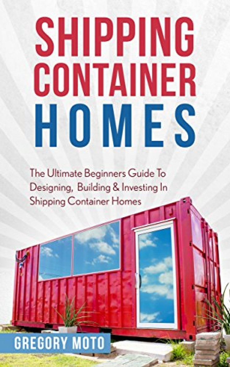 shipping container homes book