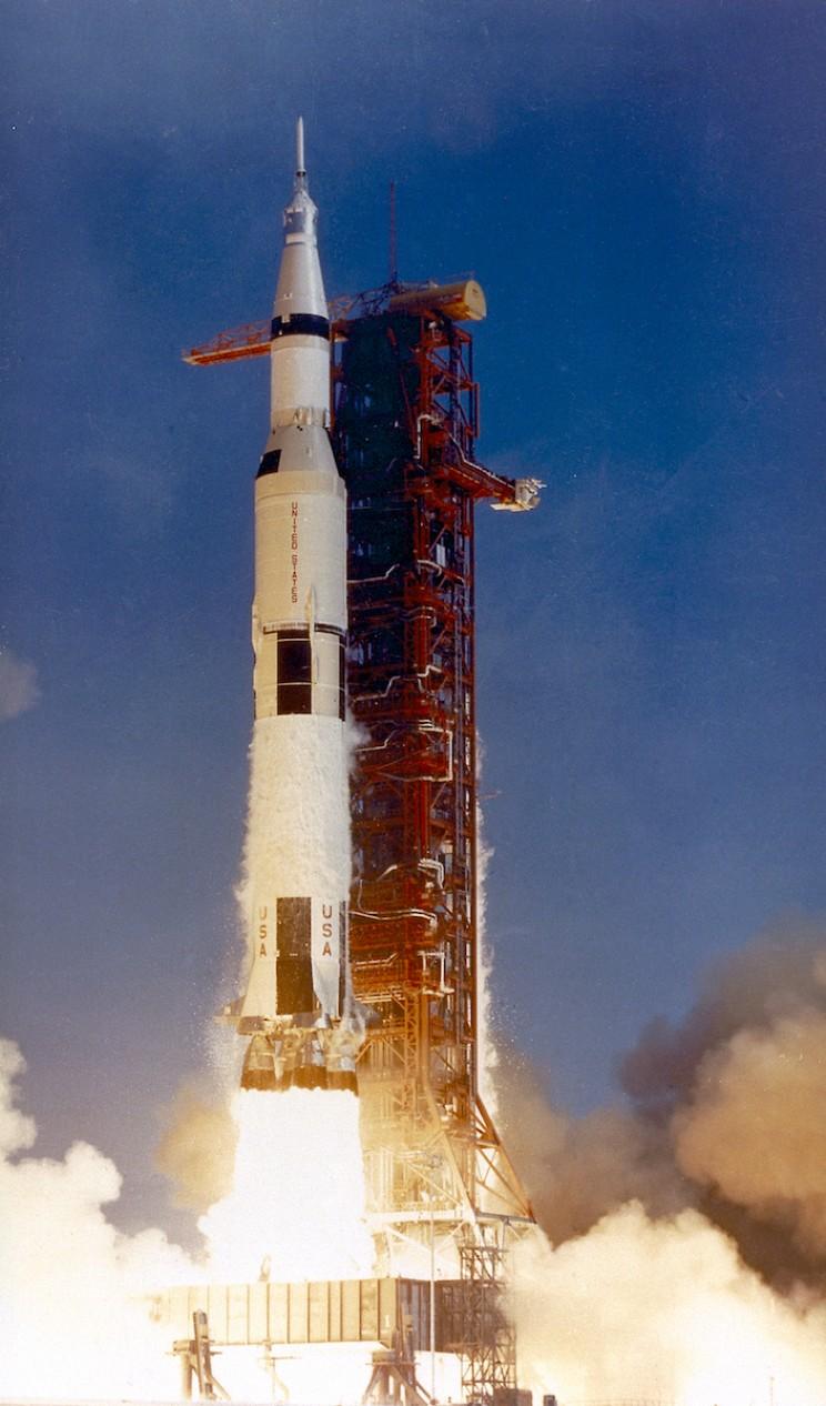 Apollo 11 mission launch