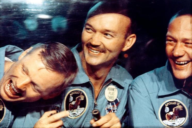 buzz aldrin, apollo 11 crew in quarantine